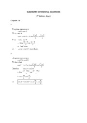 ELEMENTRY DIFFERENTIAL EQUATIONS 3.8