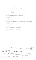 Complex Analysis Problem Paper 3 with solutions