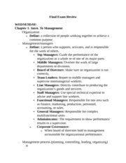 Management Study Guide