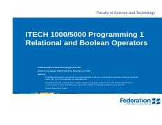 ITECH1000 Relational and boolean operators.pdf