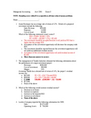 Fall 2006 Exam 3 - Solutions
