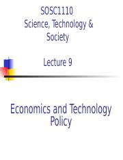 09 Eceonomics and Technology Policy.ppt