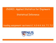 CN3421-Applied Statistics-Chapter6