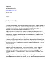 Cover letter English 315