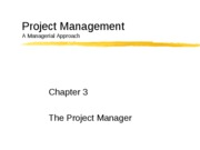 Chapter3-Project Manager