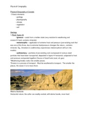 GEO 2010 Lecture Notes - Physical Geography