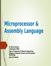 Chapter 1 Part II 8086 Microprocessor Architecture.ppt