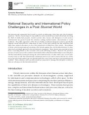 National Security and International Policy Challenges in a Post Stuxnet World.pdf