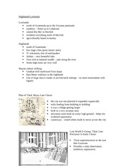 Lecture 6 notes - Tikal