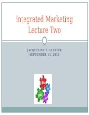 Integrated marketing. Lecture Two.9.14.16 (1).pptx