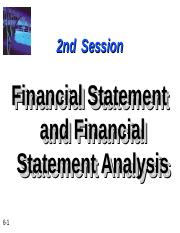 fin stat analysis - SESSION 2.ppt