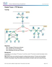 10.2.3.2 Packet Tracer - FTP Instructions