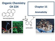 Chapter 15 - Aromatic Compounds