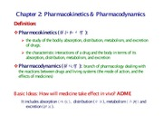 Chapter 2 Introduction to Pharmacokinetic Model
