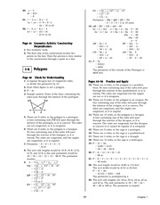 Pre-Calculus Homework Solutions 15