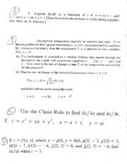 15.5 Chain Rule Problems