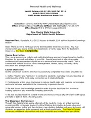HLS 150 Syllabus fall 2013