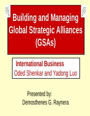 BUILDING AND MANAGING GSA(2)-DEMO.ppt