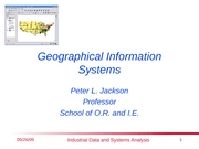 GeographicInformationSystems