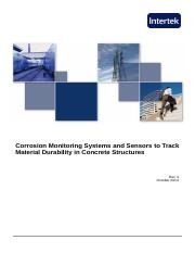 White Paper r3 Oct 2013 - Corrosion Monitoring Systems and Sensors