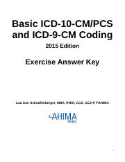 2015_Answer Key Basic ICD 10 CM PCS Coding.docx