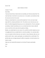 advice letter