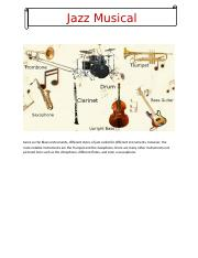 Jazz Musical Instruments.docx
