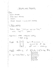 Class Notes 5