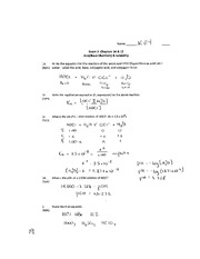 chm1046 Exam 3 Key