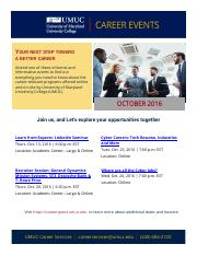October 2016_Career Events Flyer (1)