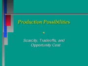 Lecture2--PRODUCTIONPOSSIBILITIES