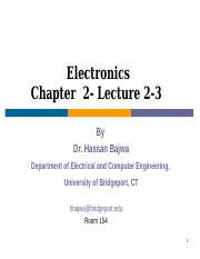 Electronics Leture 2 Fall 2017 .ppt