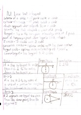 Geometry Ch 11 notes