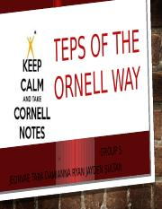 10 Steps of the Cornell Way