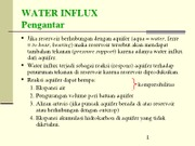 Kuliah 06 Water Influx-Edit