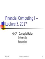 FC I Lecture 5 -- 2017.pptx