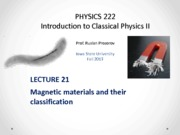 Lecture 21 - PHYS222_Fall2013