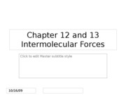 Chapter 12 and 13