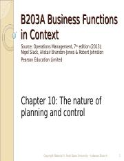 B203A chap 10 Operations Management.ppt
