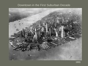 6 Downtown in the First Suburban Decade