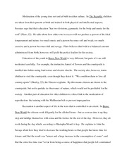 Philosophical Obediance Essay