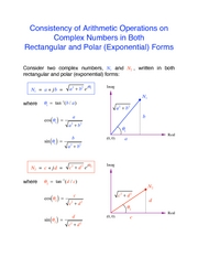 Complex number arithmetic