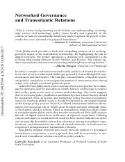 Networked Governance and Transatlantic Relations.pdf