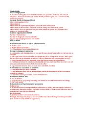 Clinical & abnormal Study Guide.docx