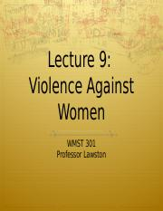 lecture_violence_against_women.ppt