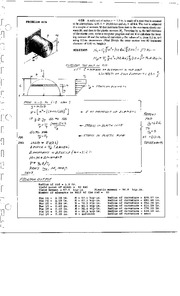 489_Mechanics Homework Mechanics of Materials Solution