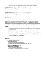 RESEARCH PLAN FOR THE SCIENCE INVESTIGATORY PROJECT.docx