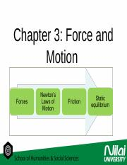 chapter 3 forces and motion (1)
