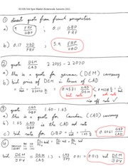 ECON 544 Spot Market Homework Answers