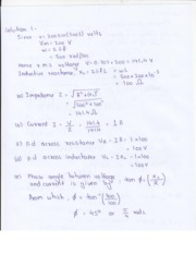 Tutorial Assignment 2 Solutions